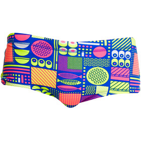 Funky Trunks Plain Front Boxer de bain Homme, packed lunch